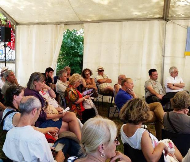"""Participation du MRC 30 au débat organisé à Lézan """"2017, relevons le Défi"""""""