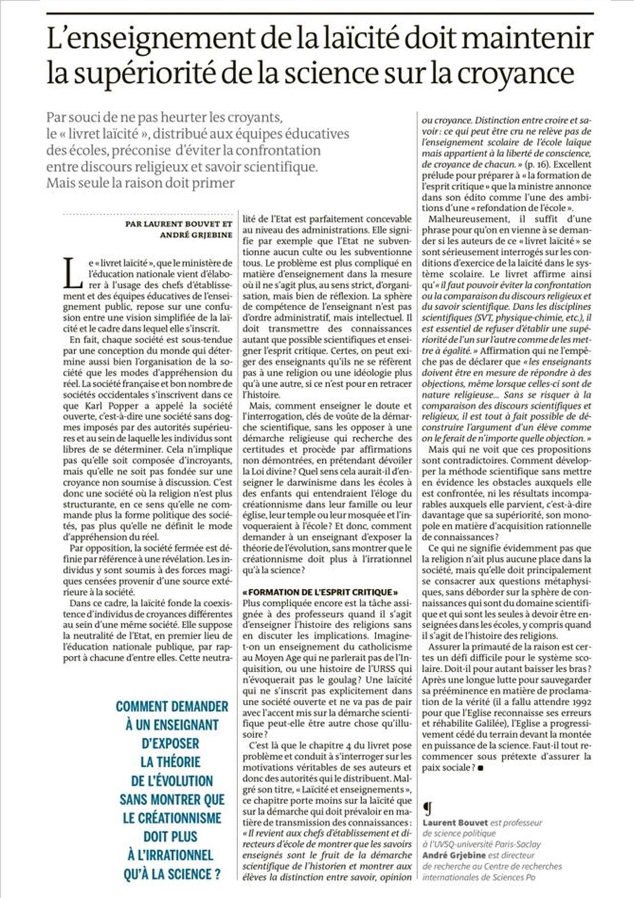 Article n°6