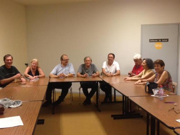 réunion comité départemental de la Gironde -7 septembre 2016