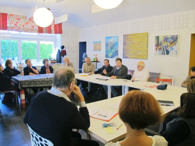 Bastien FAUDOT en Gironde à l'invitation de Patrick NIVET et Jean-Marie BILLA.
