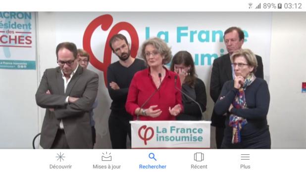 Emmanuel Maurel (à gauche) Catherine Coutard (au centre) MRC Marie Noëlle Lienemann (à droite)