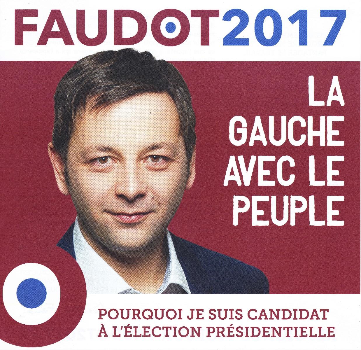 Election présidentielle Bastien Faudot