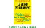 """samedi 16 juin à 16 heures Librairie l'Acacia formatlivre  présentation du livre """"le grand détournement"""" par Fatiha Boudjahlat"""