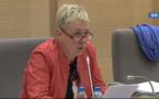 """""""Réseau Express Grand Lille"""" intervention de Françoise Dal au Conseil régional Nord Pas de Calais"""