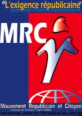 Demandez la nouvelle affiche du MRC
