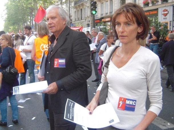 Le MRC soutient les grèves et les manifestations du 23 septembre 2010 en faveur des retraites par répartition