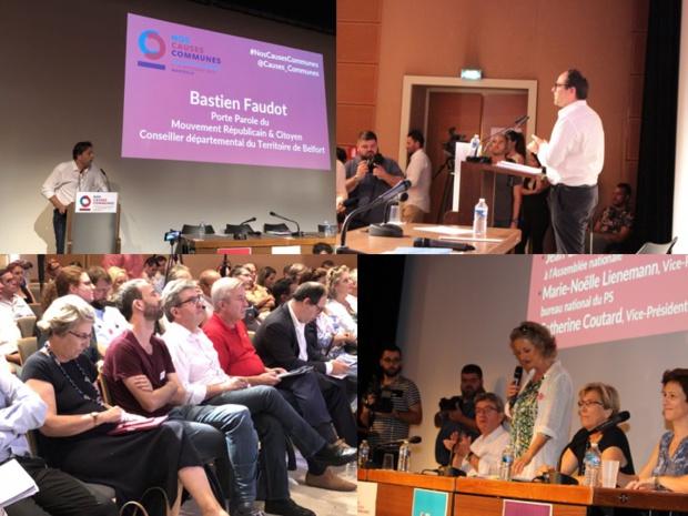 Après le succès des Universités de rentrée « Nos Causes Communes », poursuivons le travail pour bâtir une alternative et reconstruire la gauche