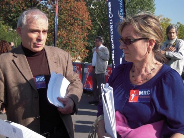 Le MRC mobilisé samedi 2 avril 2011 pour le retour de l'égalité dans les politiques de santé