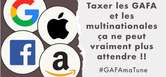 Taxe GAFAM : un impôt symbolique très insuffisant.