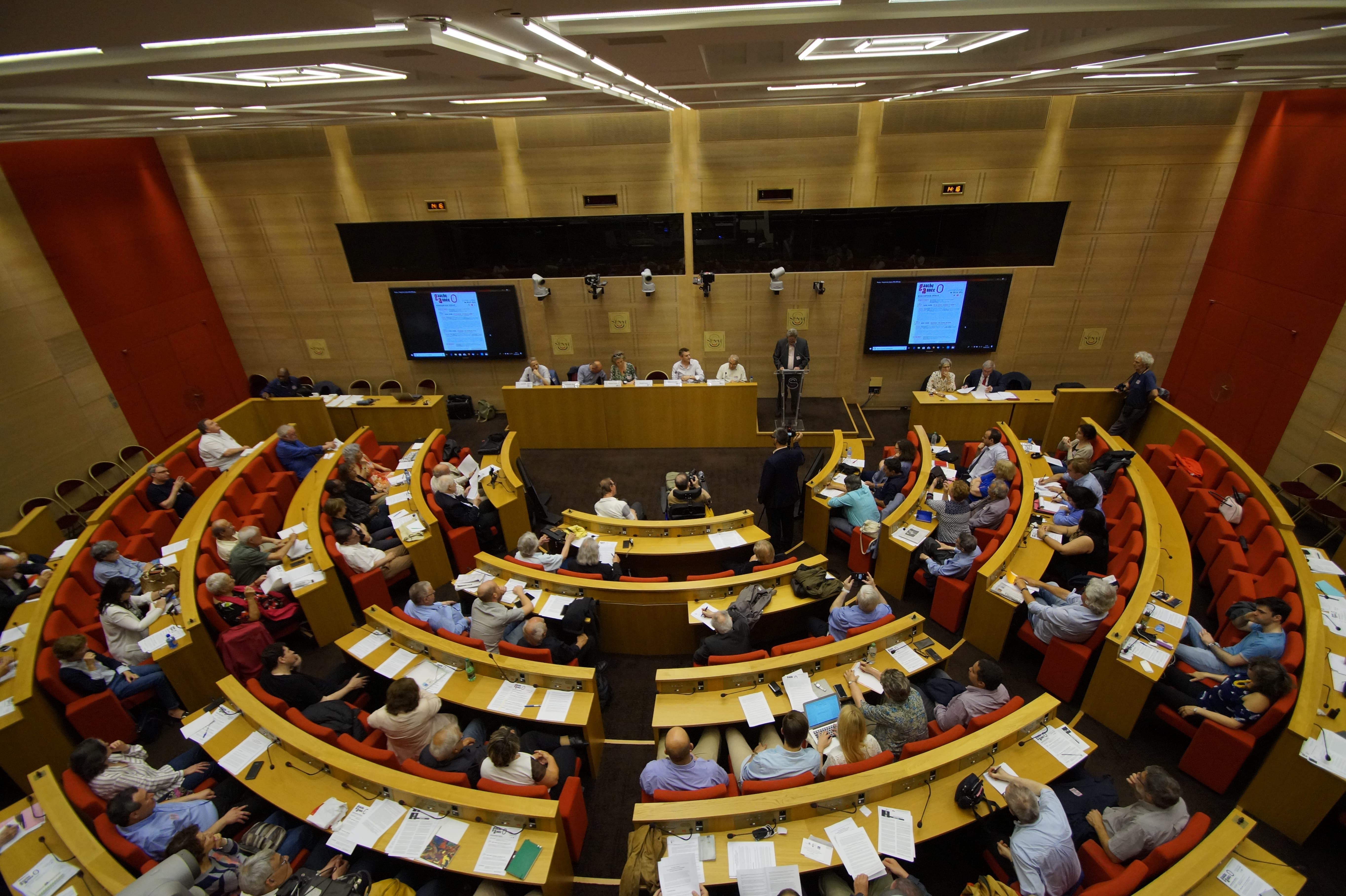 """Colloque """"Gauche année 0"""" : discours introductif du Président du MRC"""