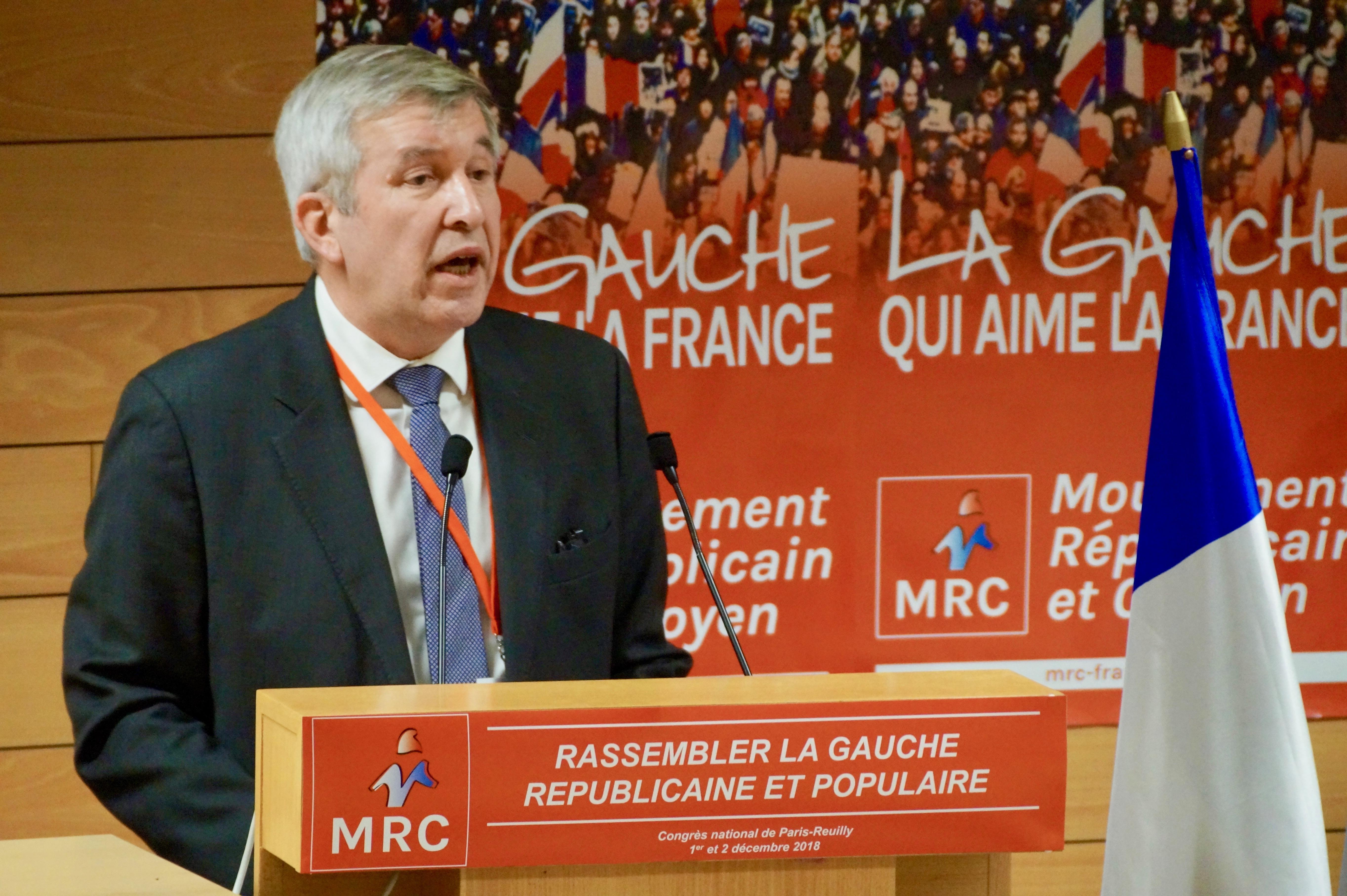 Congrès 2018 : Intervention de Clôture de Jean-Luc Laurent, Président du MRC