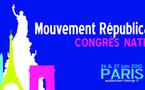 Congrès du Mouvement Républicain et Citoyen les 26 et 27 juin 2010