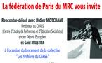 """Sur votre agenda: rencontre autour de Didier Motchane et Gaël Brustier sur les """"Archives du CERES"""""""