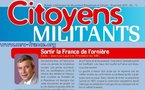 Téléchargez et distribuez le numéro de Citoyens Militants de novembre 2010