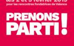Déroulé des Rencontres Fondatrices de Valence