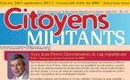 Téléchargez et distribuez le numéro de Citoyens Militants de Juillet 2011